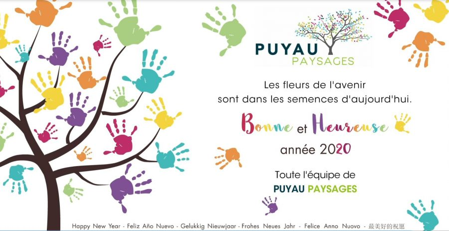 Puyau Paysages Vœux 2020