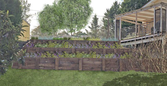 Puyau Paysages-jardin terrasse