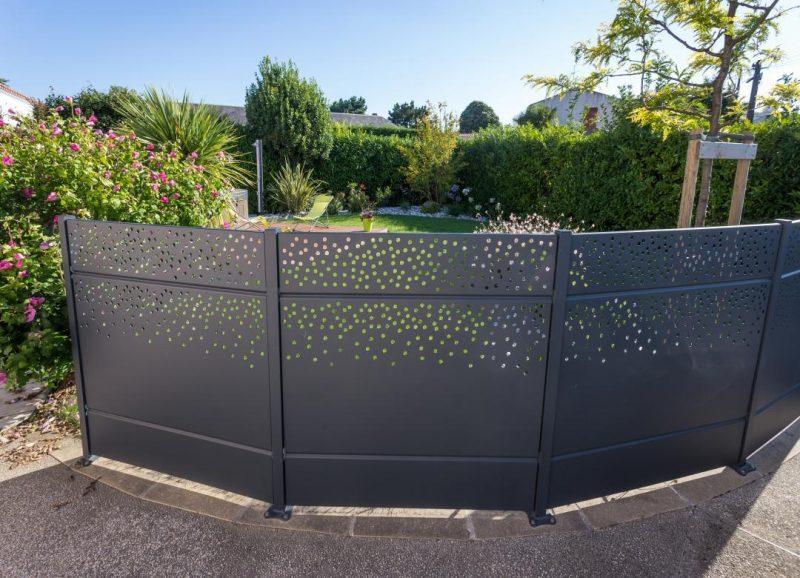 clôture aluminium
