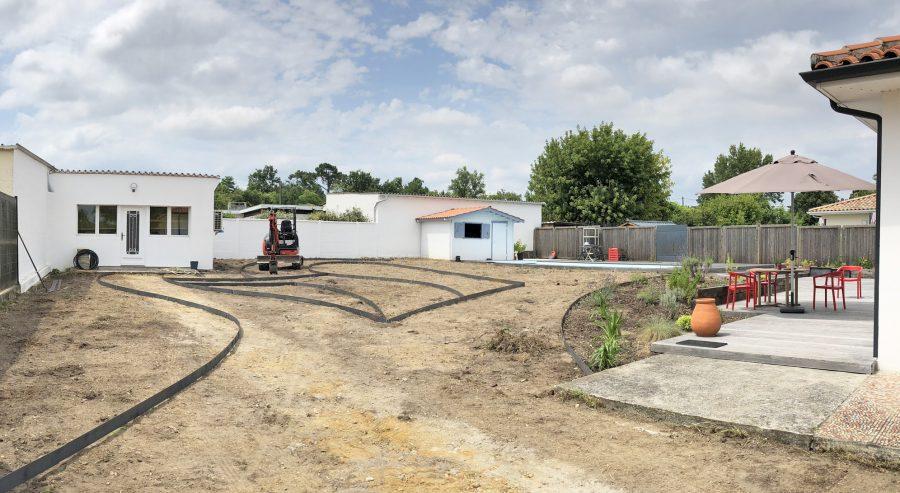 Puyau Paysages-chantier jardin-La Brède